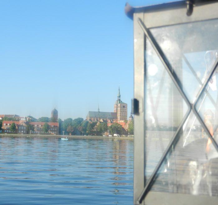 Segeltörn Stralsund, Abendfahrt, Sunset-Trip, Stralsund Kulisse