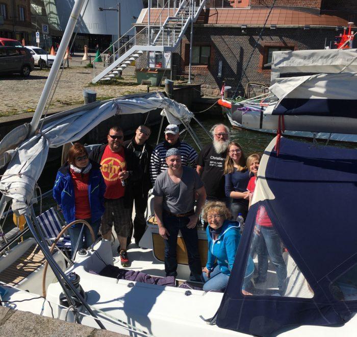 Segeltörn Ostsee, Start in Stralsund. Hier startet auch die Tour im Herbst.