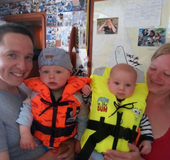 Familientörn HIddensee, Familiensegeln Ostsee