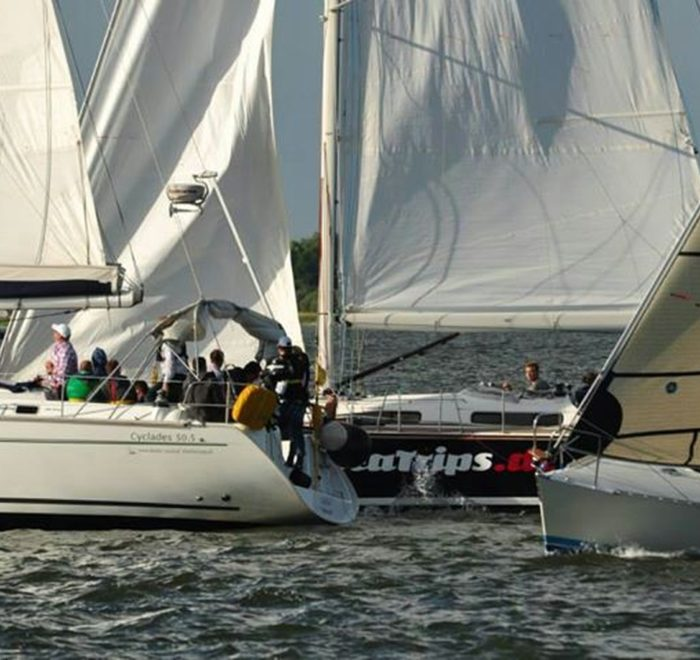 Mitsegeln Regatta Stralsund