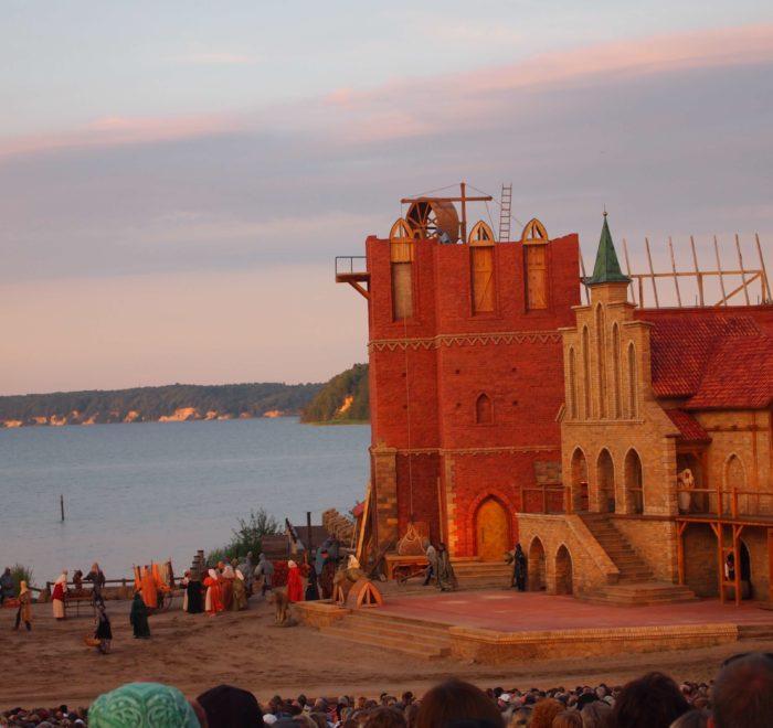 Segeln ab Stralsund. Segeltörn Störtebeker Festspiele