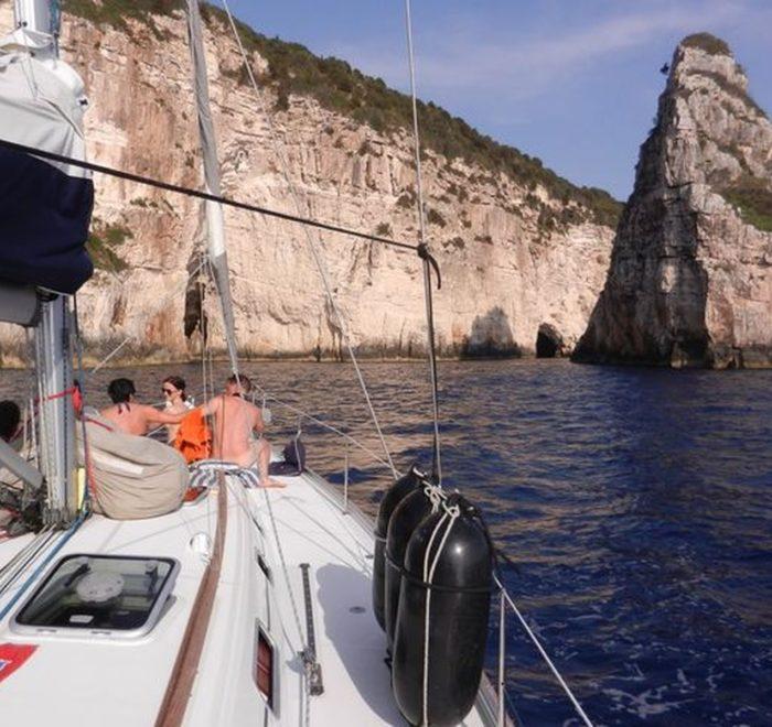 Mitsegeln Griechenland Korfu