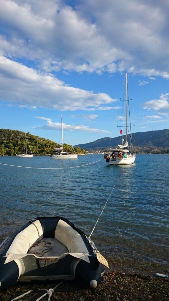 Segeltörn Athen Griechenland. Mitsegeln Mittelmeer