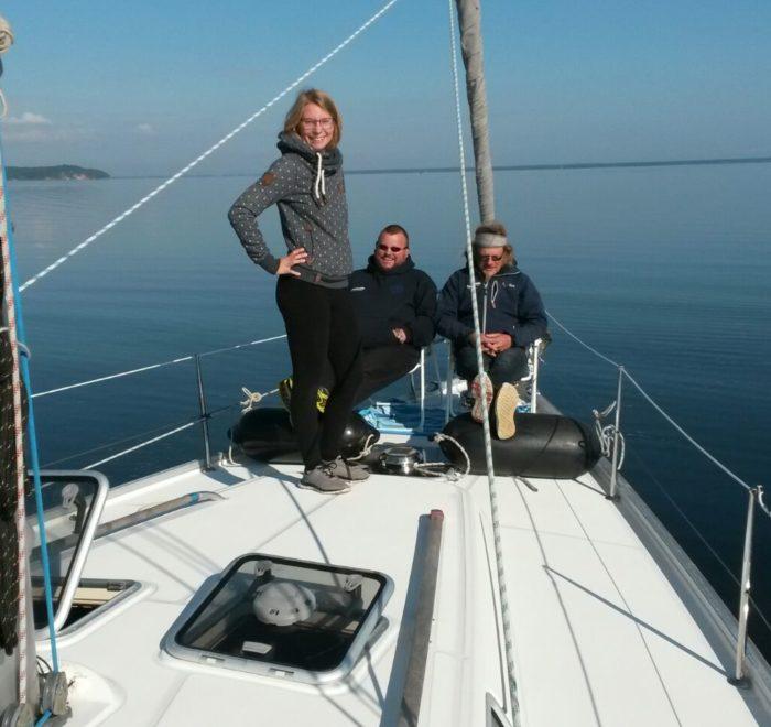 Stralsund Yacht Chartern. Segeltörn Ostsee chartern. Charteryacht Ostsee