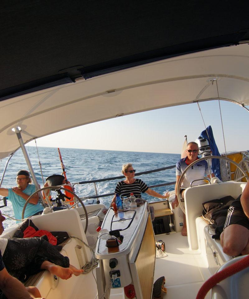 Segeln im Mittelmeer