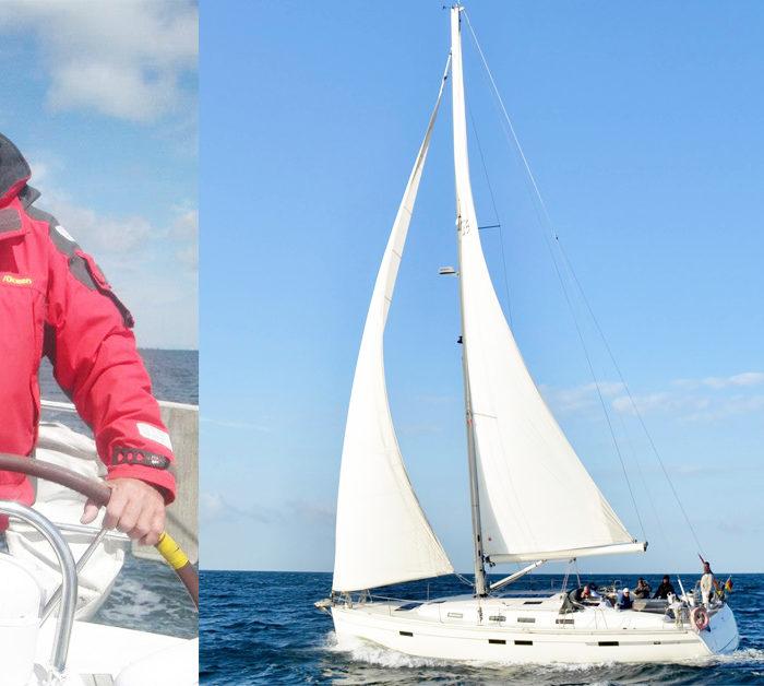 Skipper Rollo und seine Yacht FERNWEH