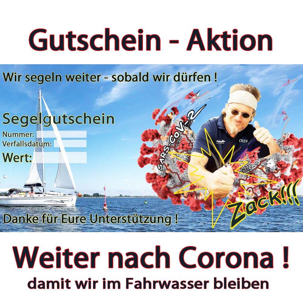 Gutschein Aktion Weiter Segeln nach Corona