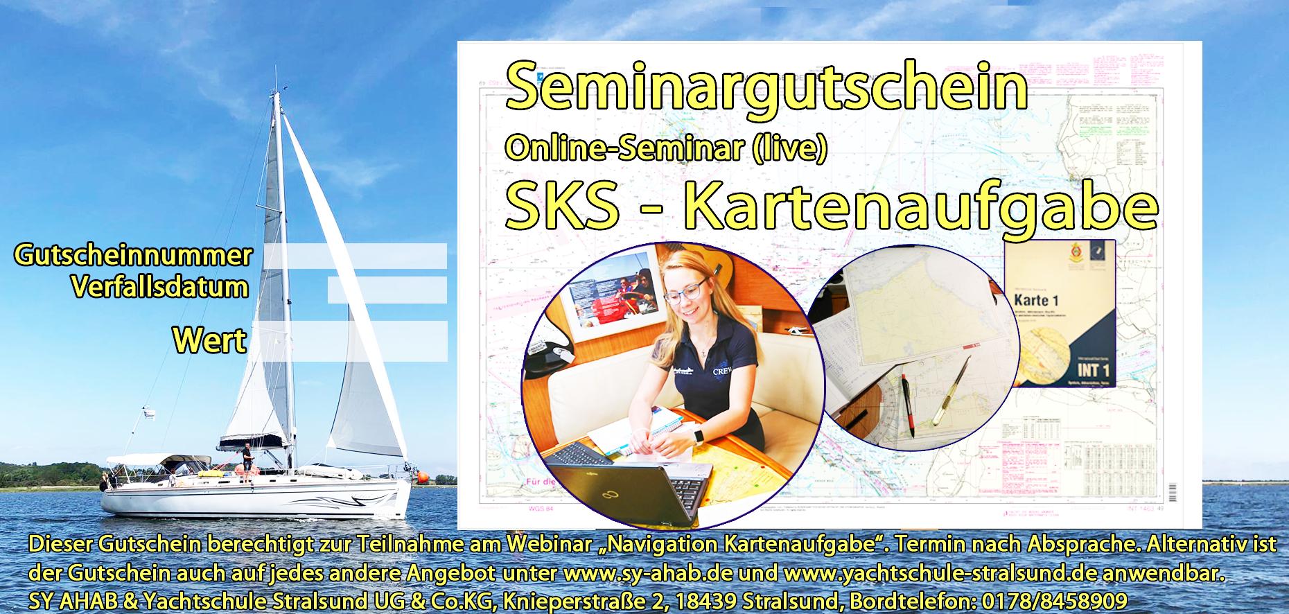 SKS NAvigation KArtenaufgabe Online Seminar Webinar
